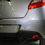 Sensori park installati su Mazda 2