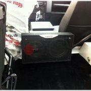 Impianto audio Land Rover Defender