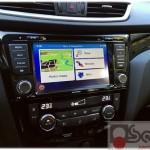 navigatore custom fit Nissan Qashqai