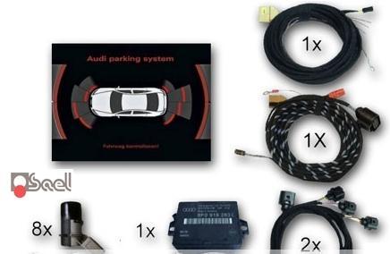 Kit sensori parcheggio anteriori e posteriori