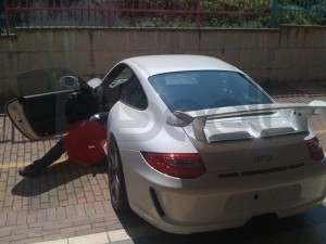 Porsche GT3 antifurto satellitare