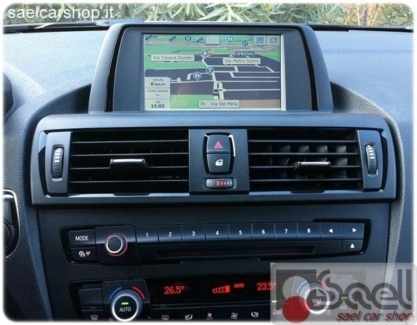 navigatore touchscreen bmw 1 f20 3 f30 con professional. Black Bedroom Furniture Sets. Home Design Ideas