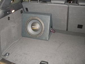 Audi Q5 8R subwoofer