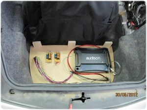 Amplificatore Audison Porsche 996