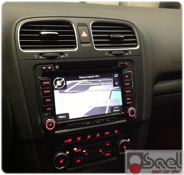 vw golf 6 installazione navigatore bluetooth. Black Bedroom Furniture Sets. Home Design Ideas