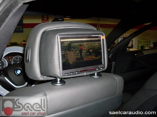 BMW-X6 monitor poggiatesta
