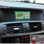 BMW X3 F25 navigatore touch