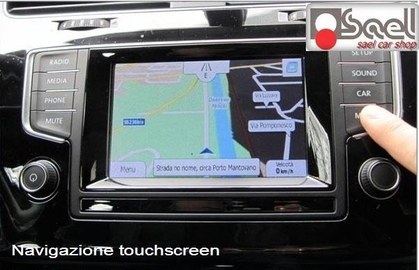 vw golf 7 5q navigatore gps touchscreen. Black Bedroom Furniture Sets. Home Design Ideas