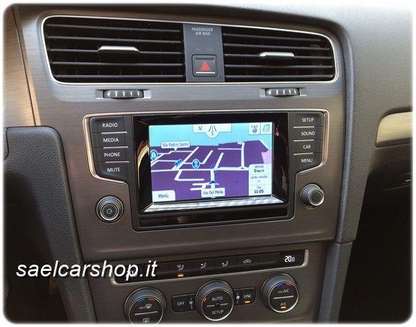 Vw Golf 7 5q Navigatore Gps Touchscreen Sael Snc Brescia
