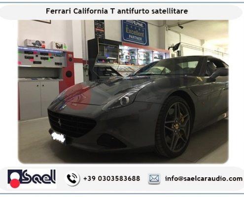 Ferrari California T antifurto satellitare