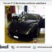 Fearrari F12 berlinetta antifurto satellitare