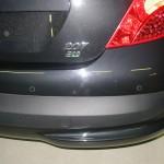 Sensori park su Peugeot 207
