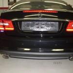 Sensori park installati su Mercedes Classe E