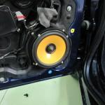 Woofer Hertz installato su Lancia Y