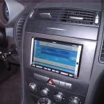 Clarion MAX668RVD installato su Mercedes SLK