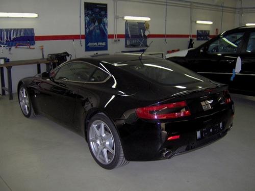 Aston Martin Vantage antifurto satellitare