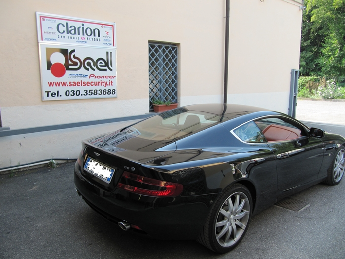 Aston Martin DB9 antifurto satellitare num2