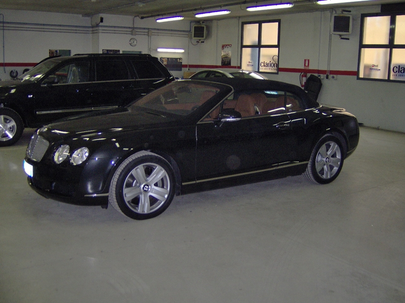Bentley Continental GTC antifurto satellitare