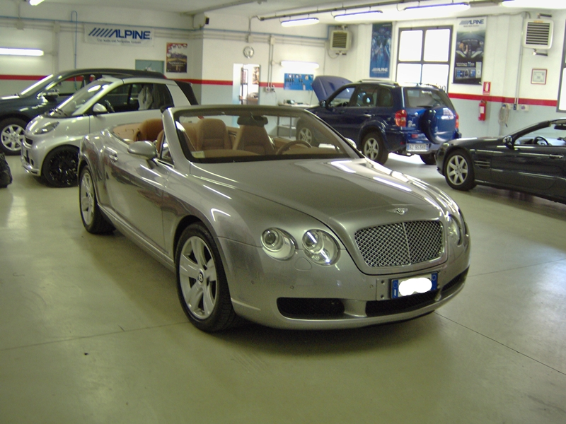 Bentley GTC antifurto satellitare