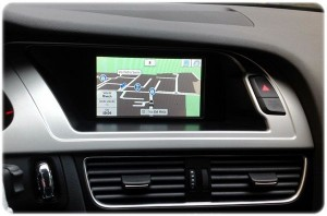 Audi a4 navigatore touch
