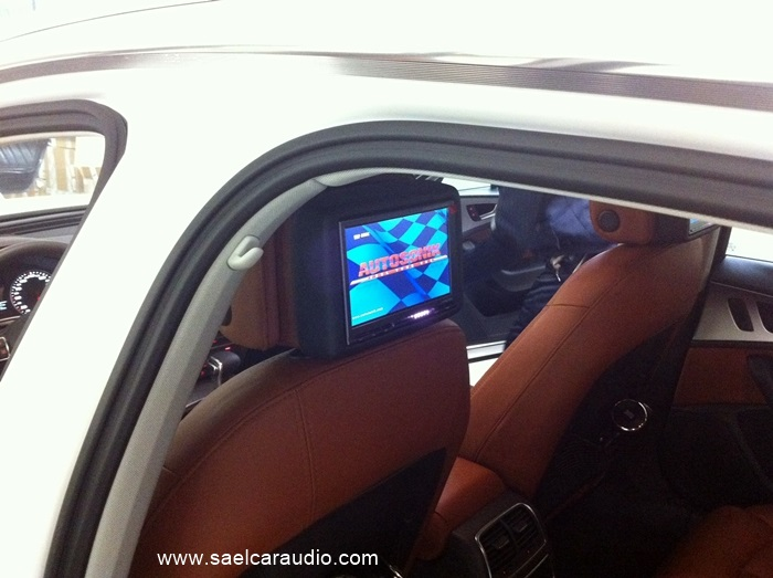 Audi-A6-4G-monitor-posteriori