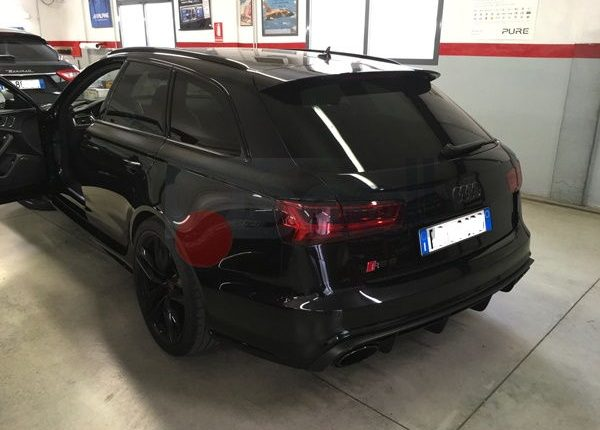 Audi RS6 antifurto satellitare