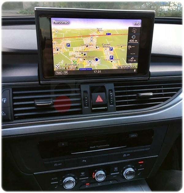 Audi A6 4G retrofit navigazione
