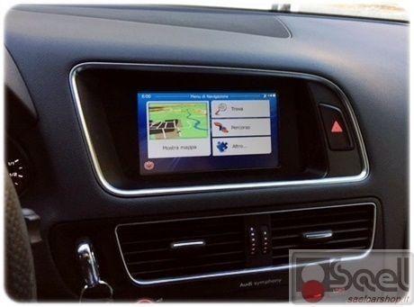 Navigatore custom fit Audi Q5 8R