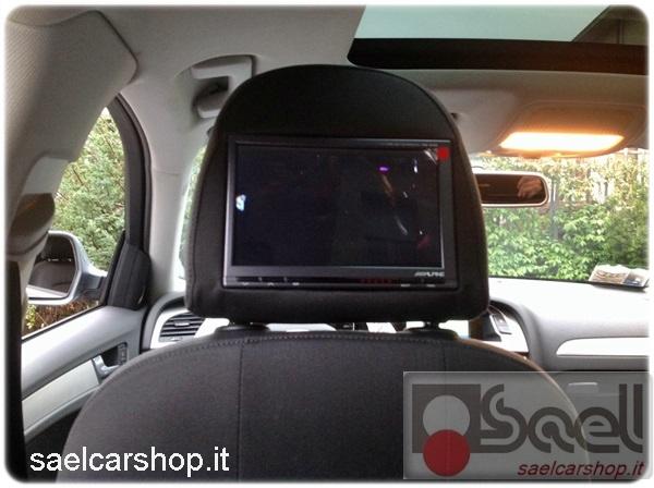 Monitor poggiatesta Alpine Audi A4 8K