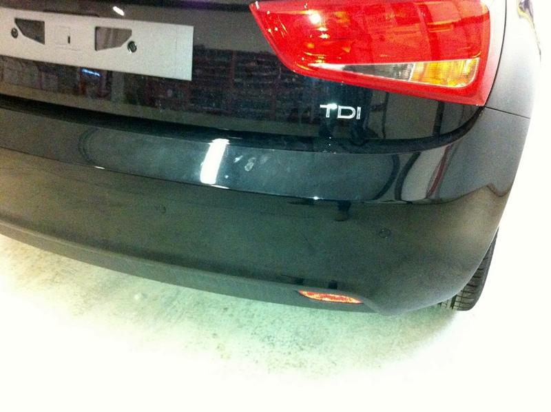 Audi A1 sensori parcheggio num2