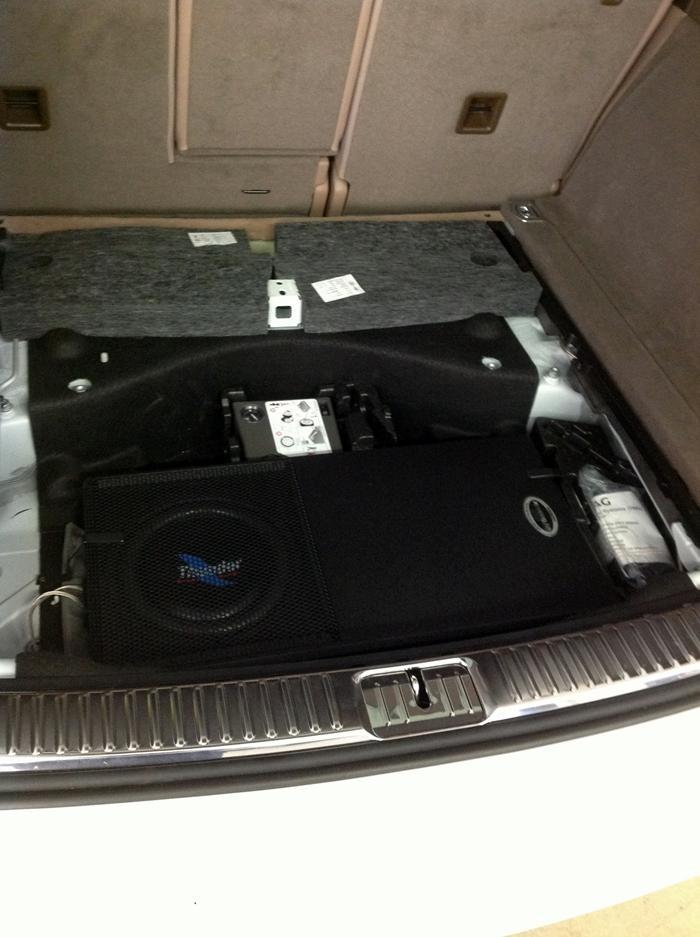 impianto audio auto