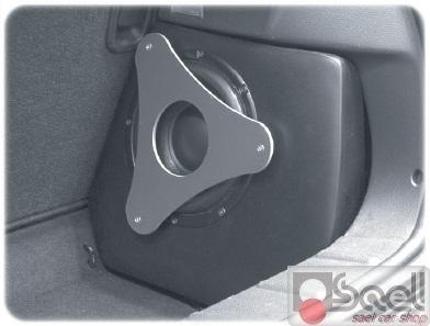 subwoofer personalizzato mini cooper sael snc. Black Bedroom Furniture Sets. Home Design Ideas