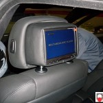 BMW X6 E71 monitor poggiatesta