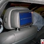 BMW X6 E71 monitor poggiatesta