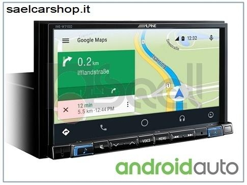 Alpine INE-W710D autoradio Android Auto & Apple CarPlay