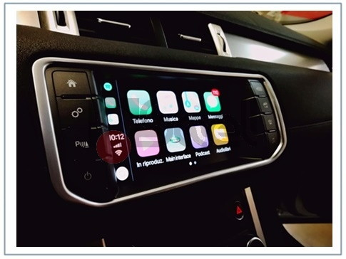 Kit Apple CarPlay Range Rover Evoque