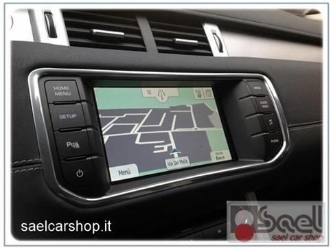 Navigatore touch Range Rover Evoque