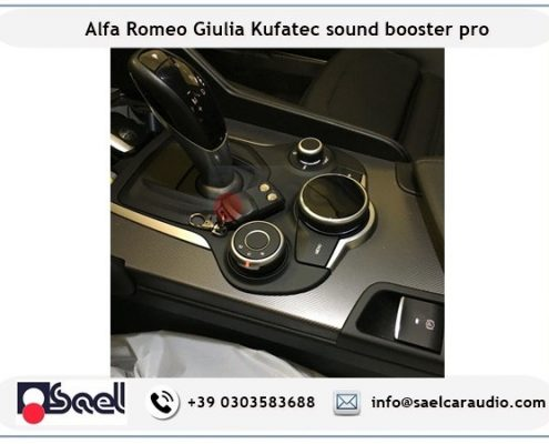 Active sound booster Alfa Romeo Giulia