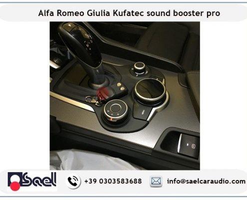 Active sound booster Alfa Romeo Giulia