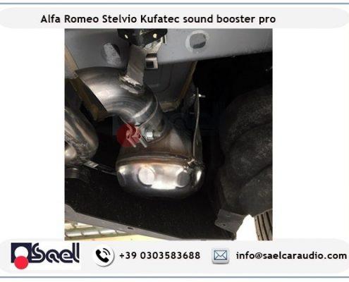 Active sound booster Alfa Romeo Stelvio