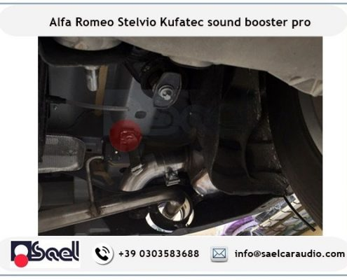 Sound booster Kufatec Alfa Romeo Stelvio