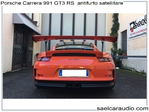 Antifurto satellitare Porsche Carrera GT3 RS
