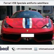 Ferrari 458 Speciale antifurto satellitare