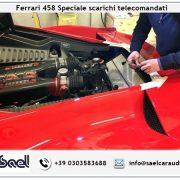 Ferrari 458 Speciale scarichi telecomandati