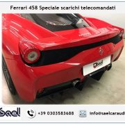 Scarichi telecomandati Ferrari 458 Speciale