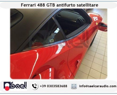 Ferrari 488 GTB antifurto satellitare
