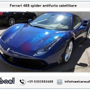 Ferrari 488 spider antifurto satellitare