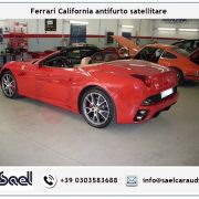 Fearrari California antifurto satellitare