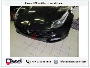Ferrari FF antifurto satellitare