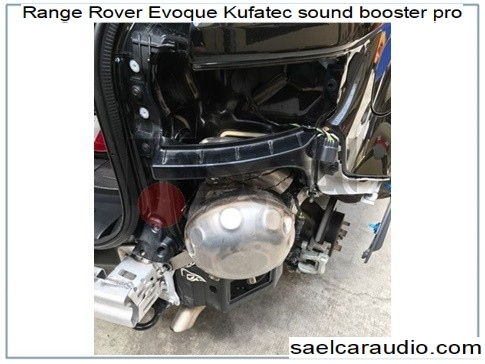 Sound booster Range Rover Evoque